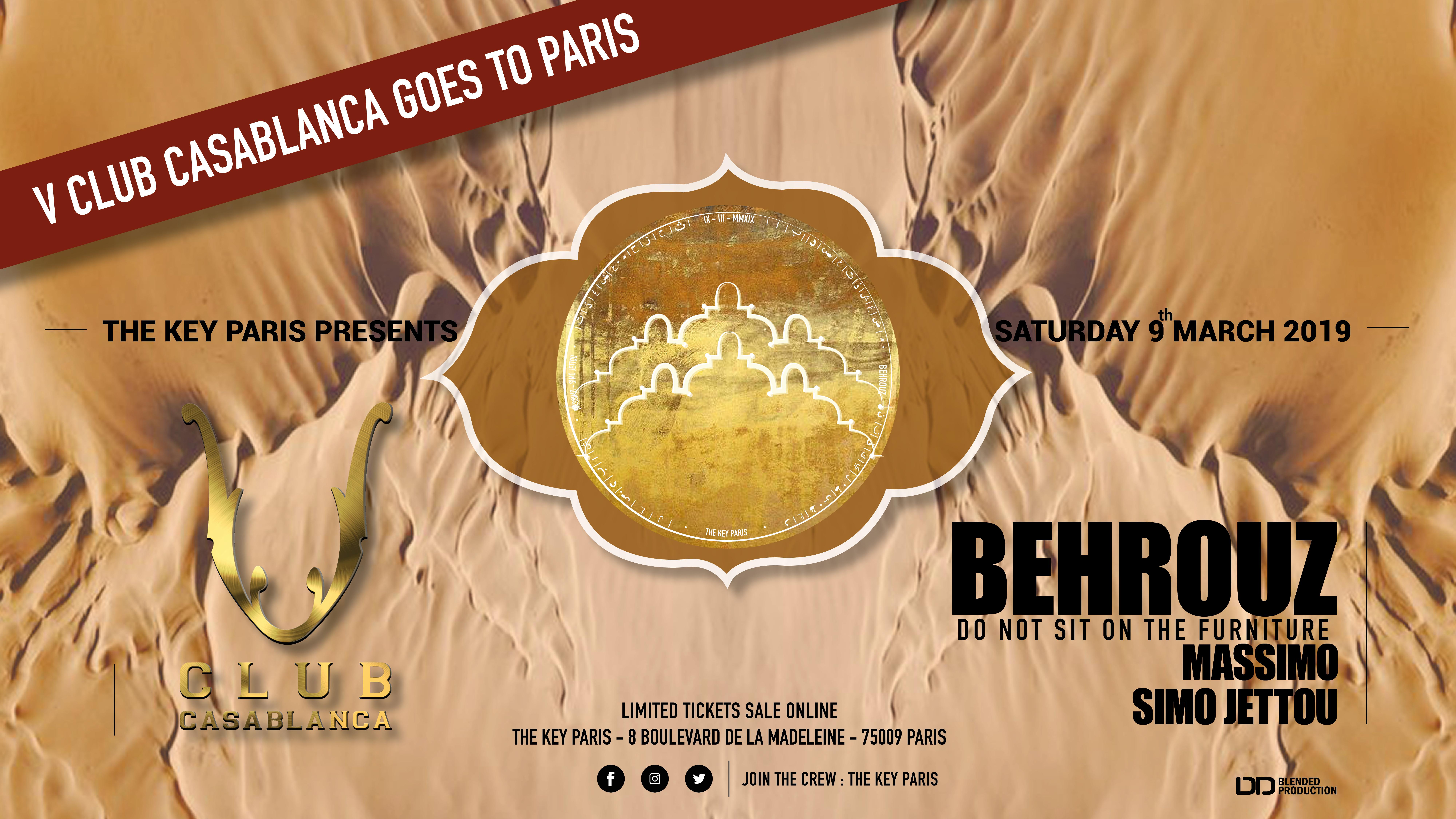 V CLUB Goes to The KEY Paris with Behrouz & Massimo