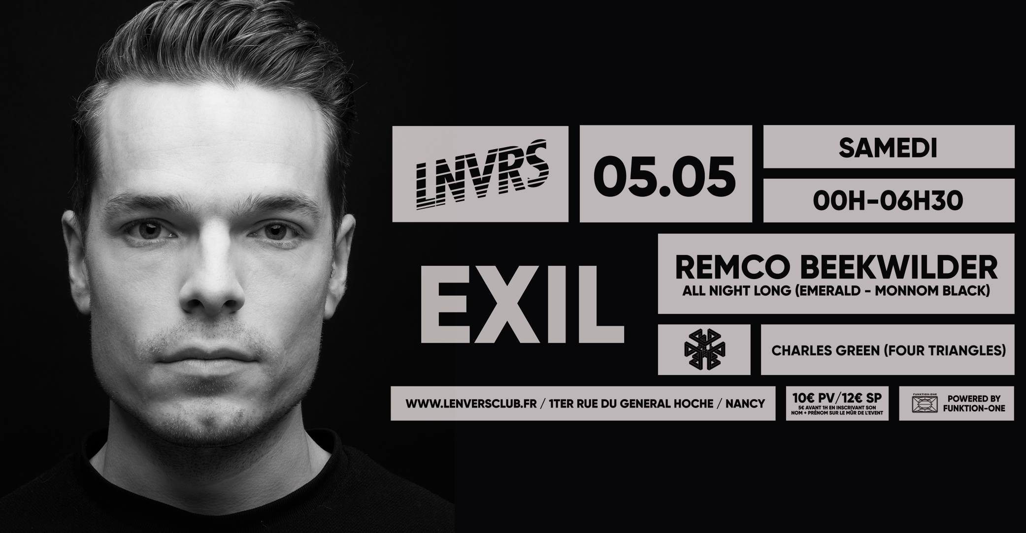 Exil / Remco Beekwilder All Night Long / LNVRS