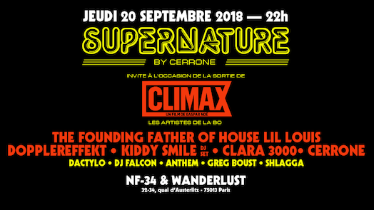 Supernature x Climax - Cerrone, Lil Louis, Kiddy Smile