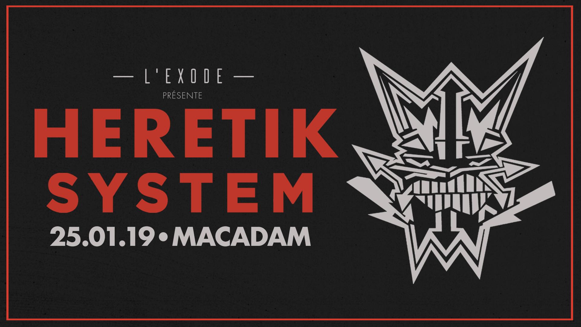 L'Exode #10 : Heretik System