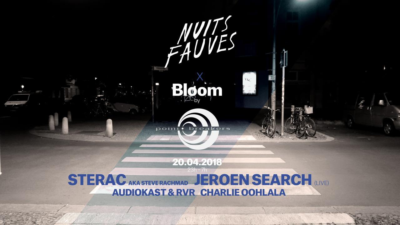 Bloom : Sterac aka Steve Rachmad • Jeroen Search (live)