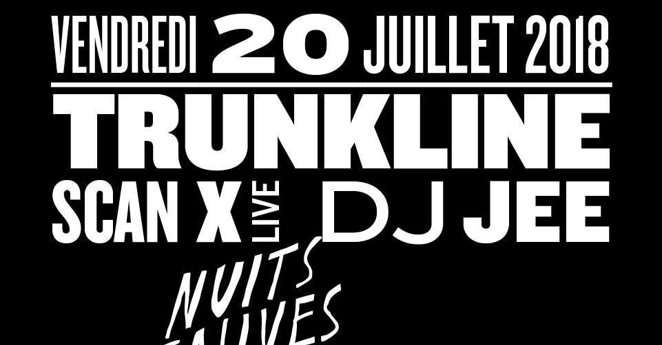 Trunkline - Scan X (live) - DJ Jee