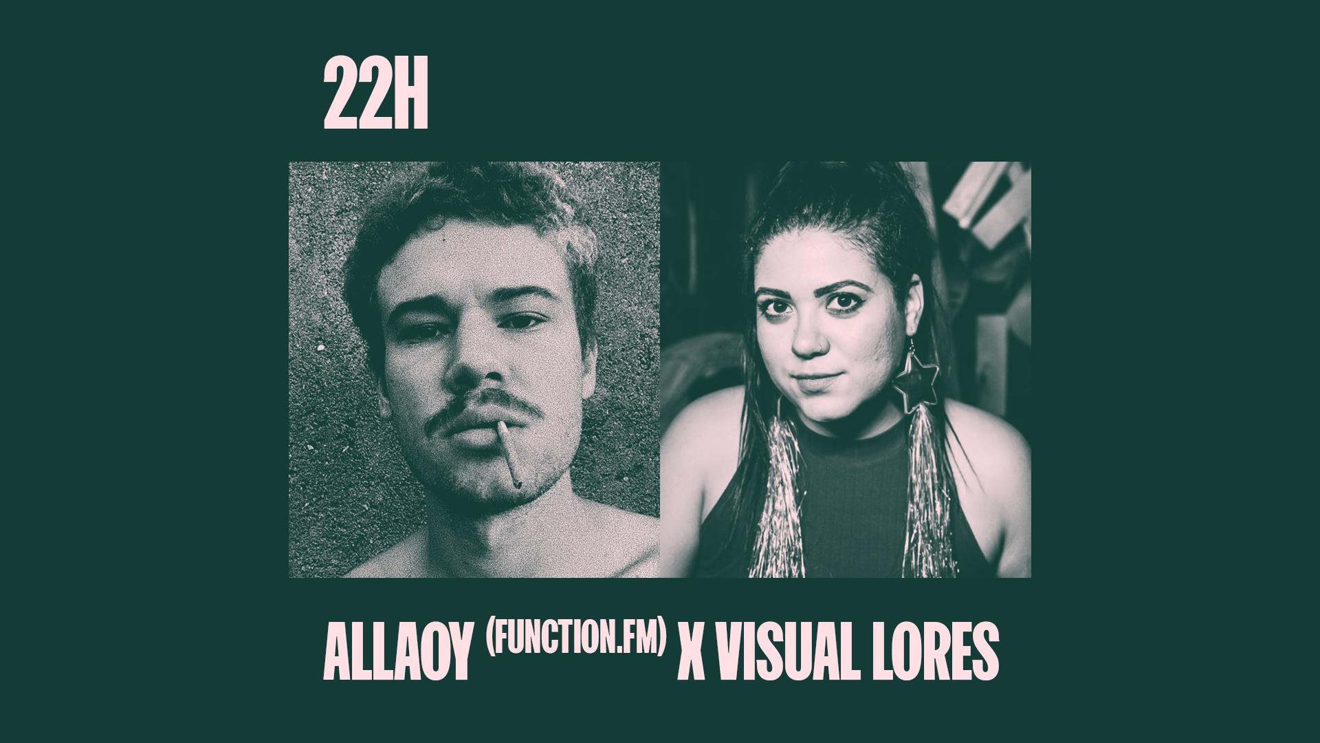Allaoy (Function.FM) - convidado pela SUJXXX  x Visual Lores