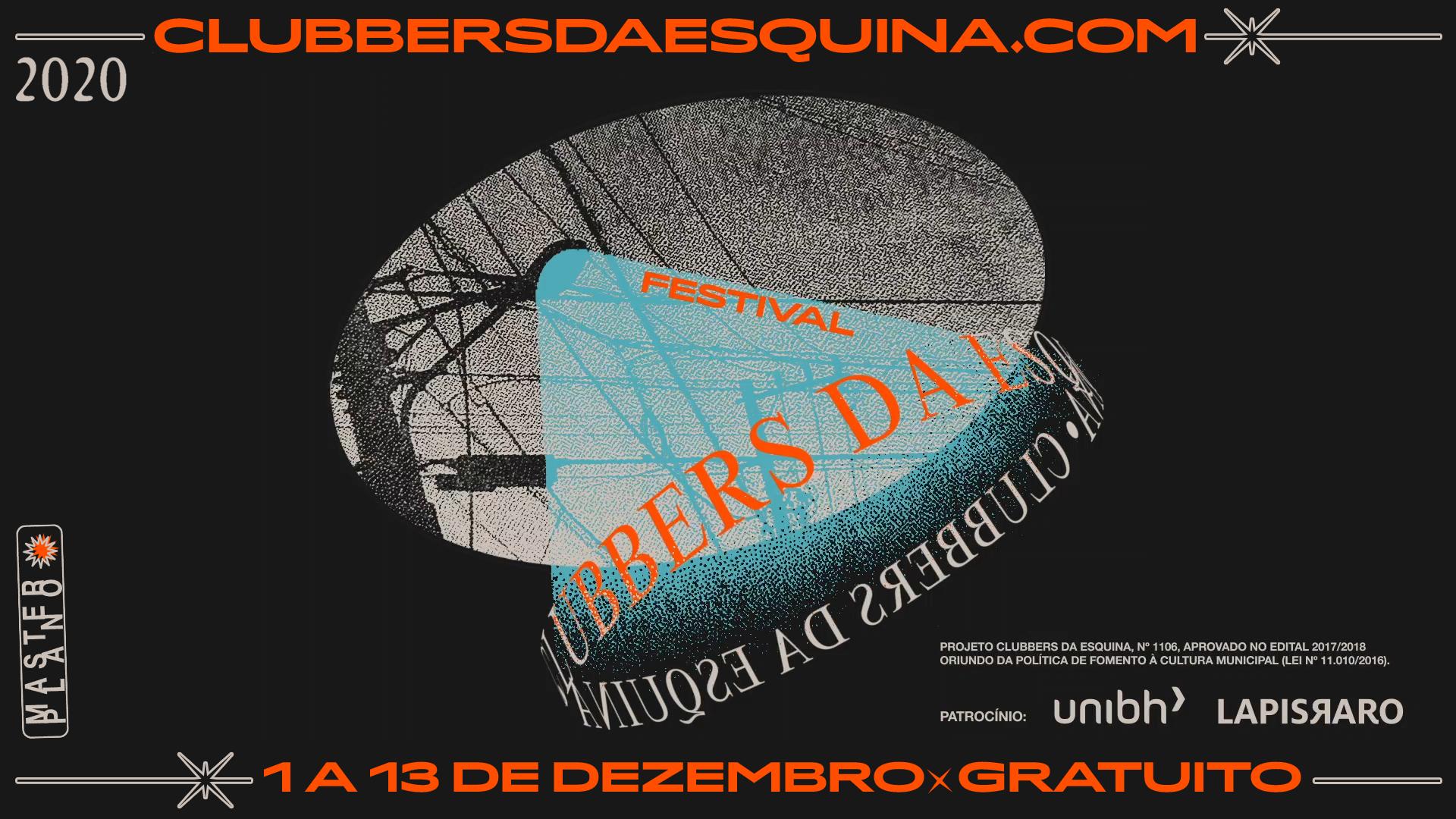 MASTERplano: Festival Clubbers da Esquina