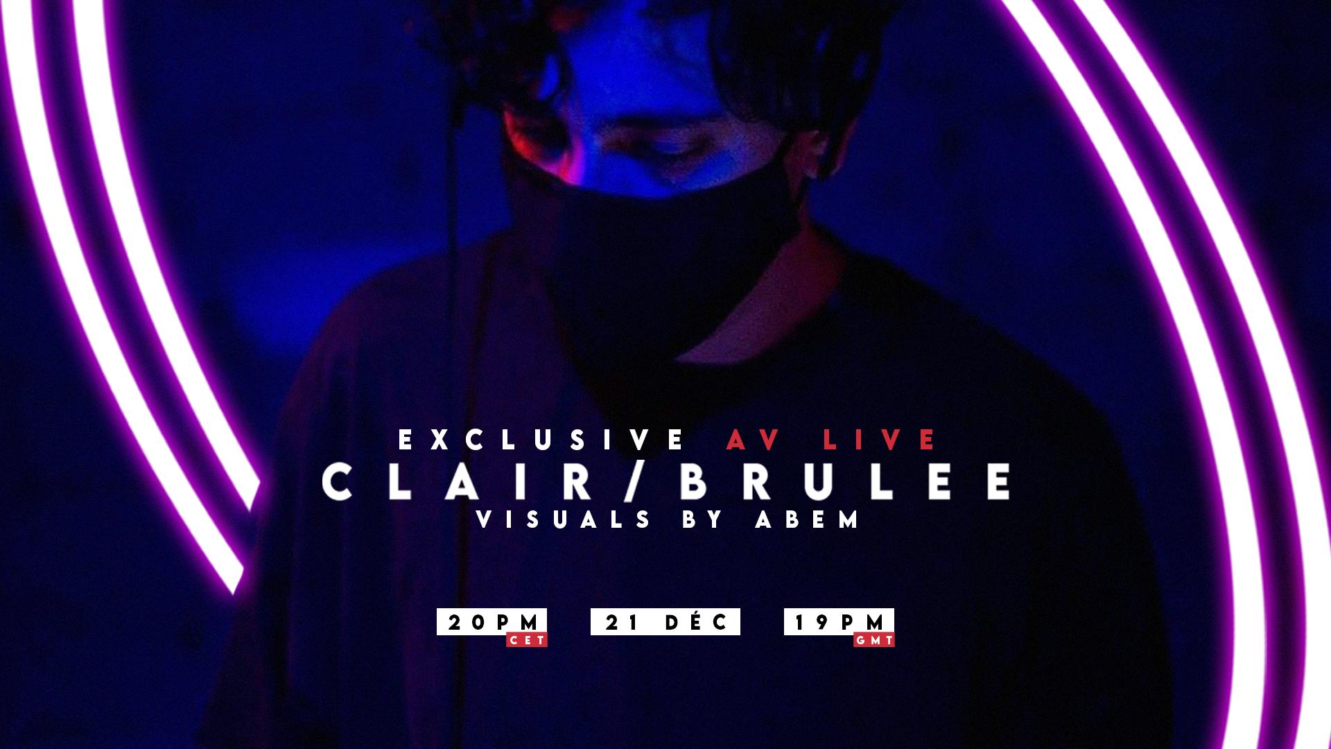 Clair exclusive av live with Abem | Paris 🇫🇷 | En Quarantaine
