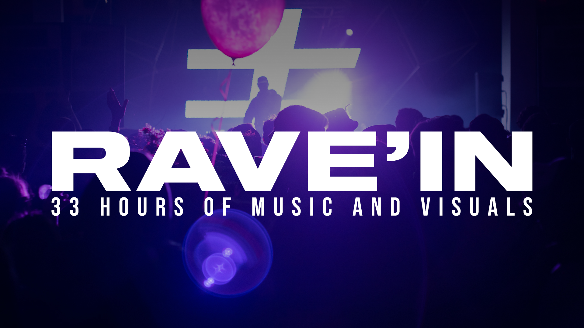 Rave'in to 2021 - 33 hours of music & visuals | Montréal 🇨🇦| OCTOV live