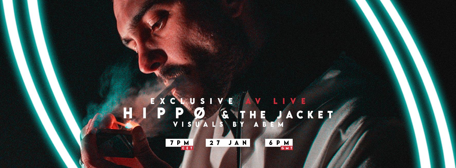 HIPPØ & THE JACKET exclusive av live with Abem  | Paris 🇫🇷 | En Quarantaine
