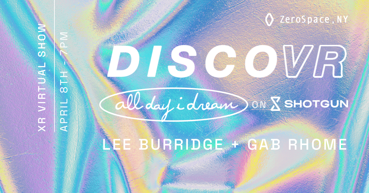 DISCOVR:\ LEE BURRIDGE & GAB RHOME