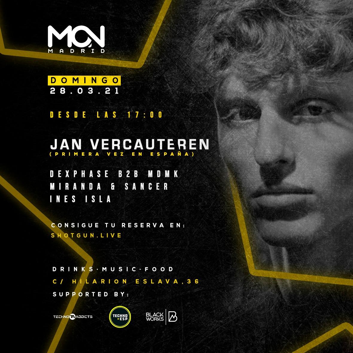 Jan Vercautaren @ Mon Club
