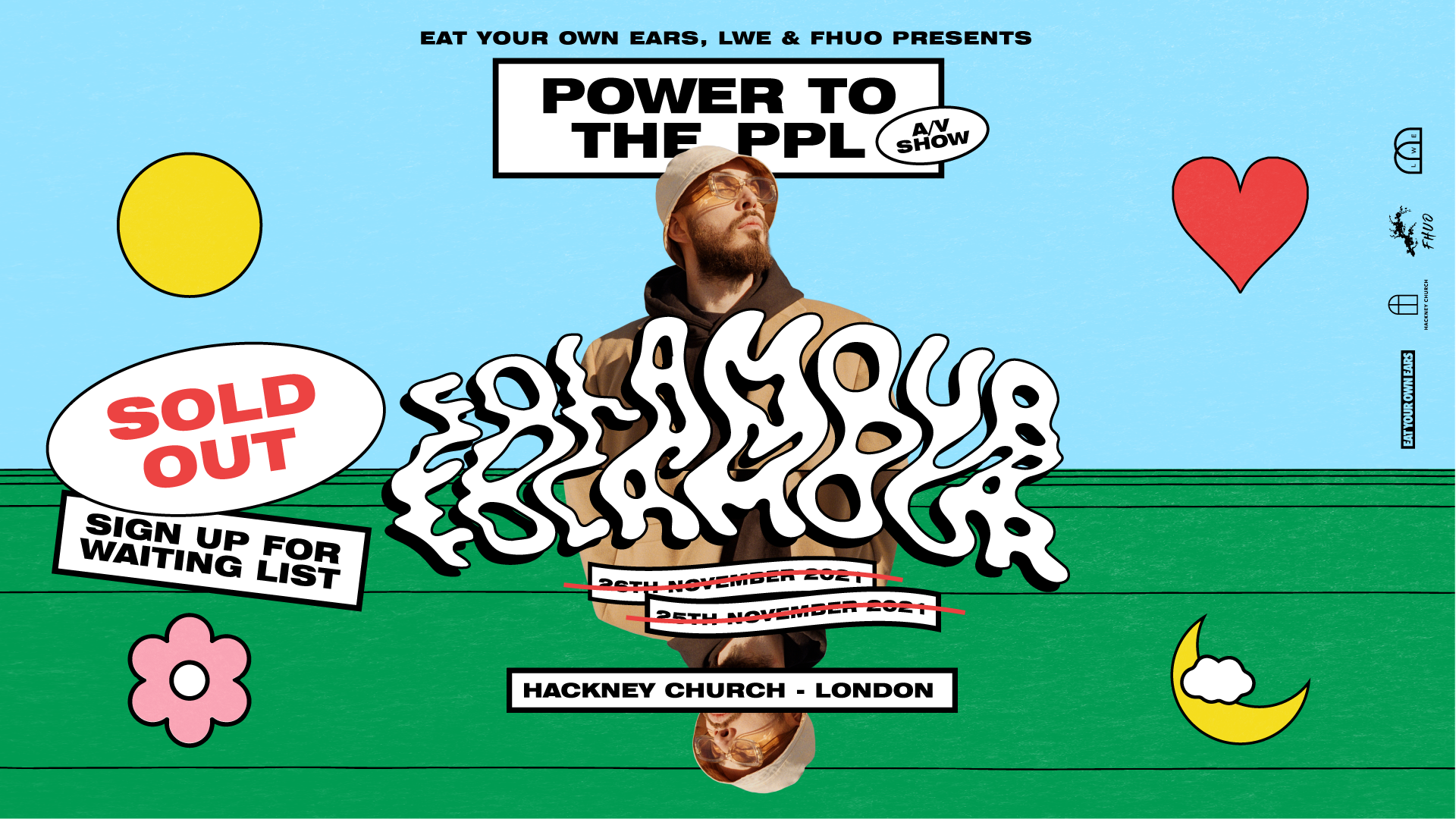 Folamour: Power to the PPL A/V 2nd Date