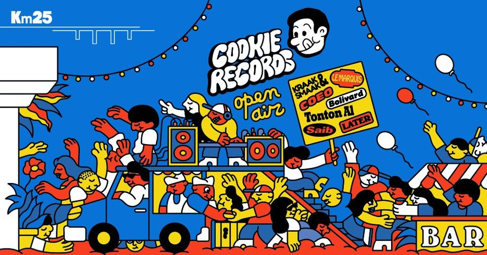 Opening Kilomètre25 : Cookie Records Open Air
