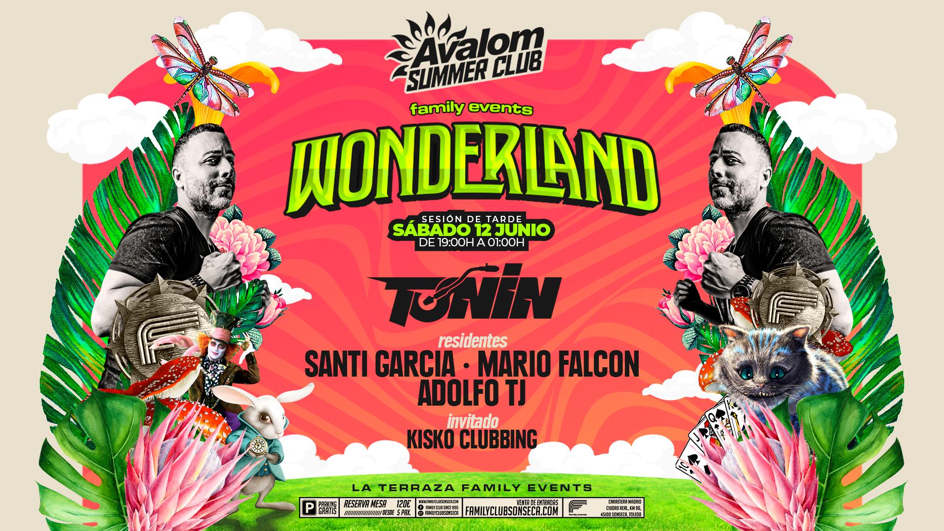 AVALOM SUMMER CLUB con DJ TOÑIN - FAMILY EVENTS