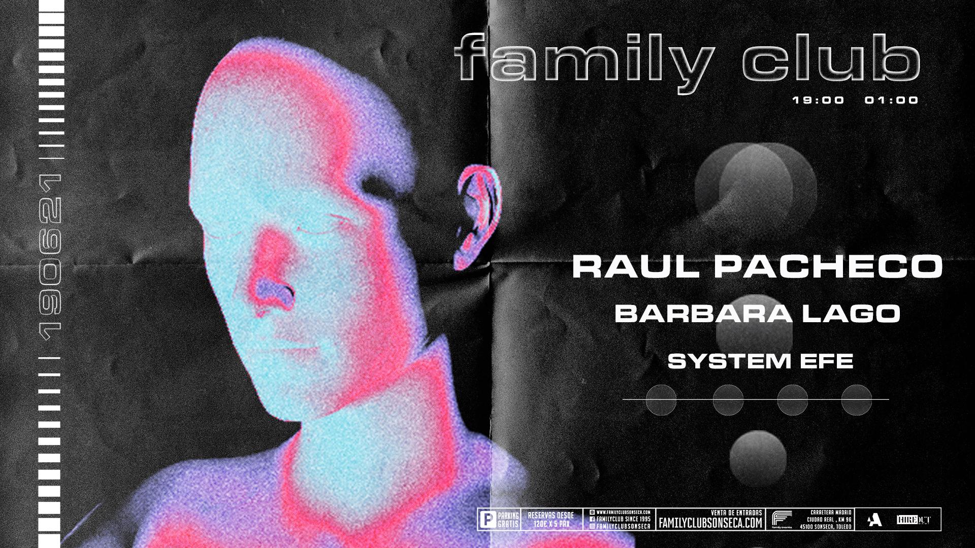 Raul Pacheco y Bárbara Lago - FAMILY EVENTS