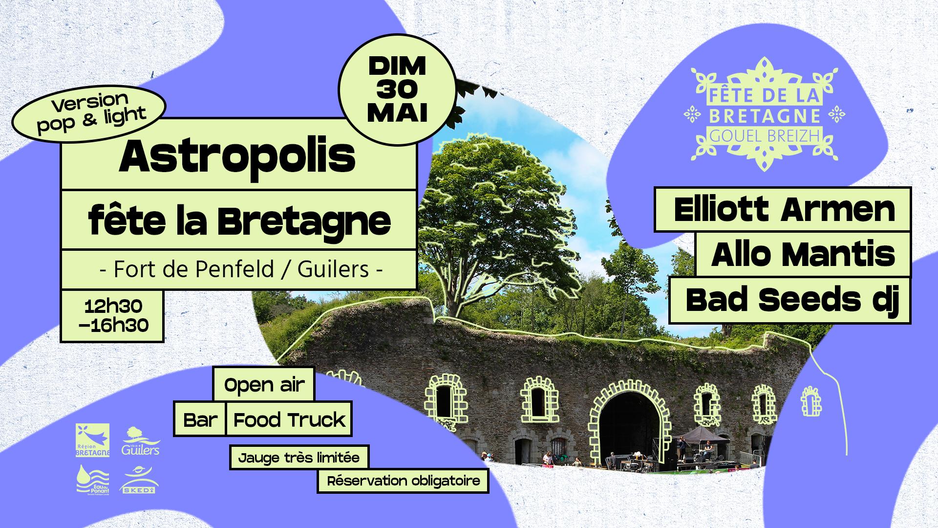 Astropolis fête la Bretagne (version light & pop)