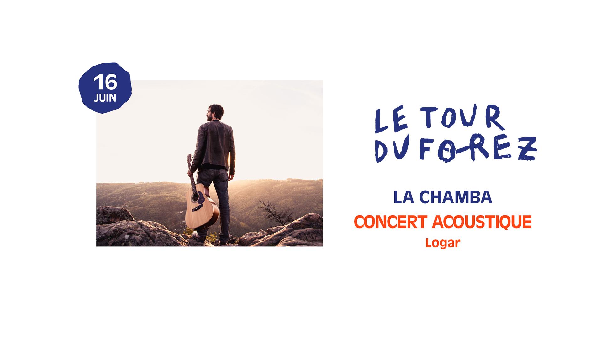 Concert acoustique de Logar