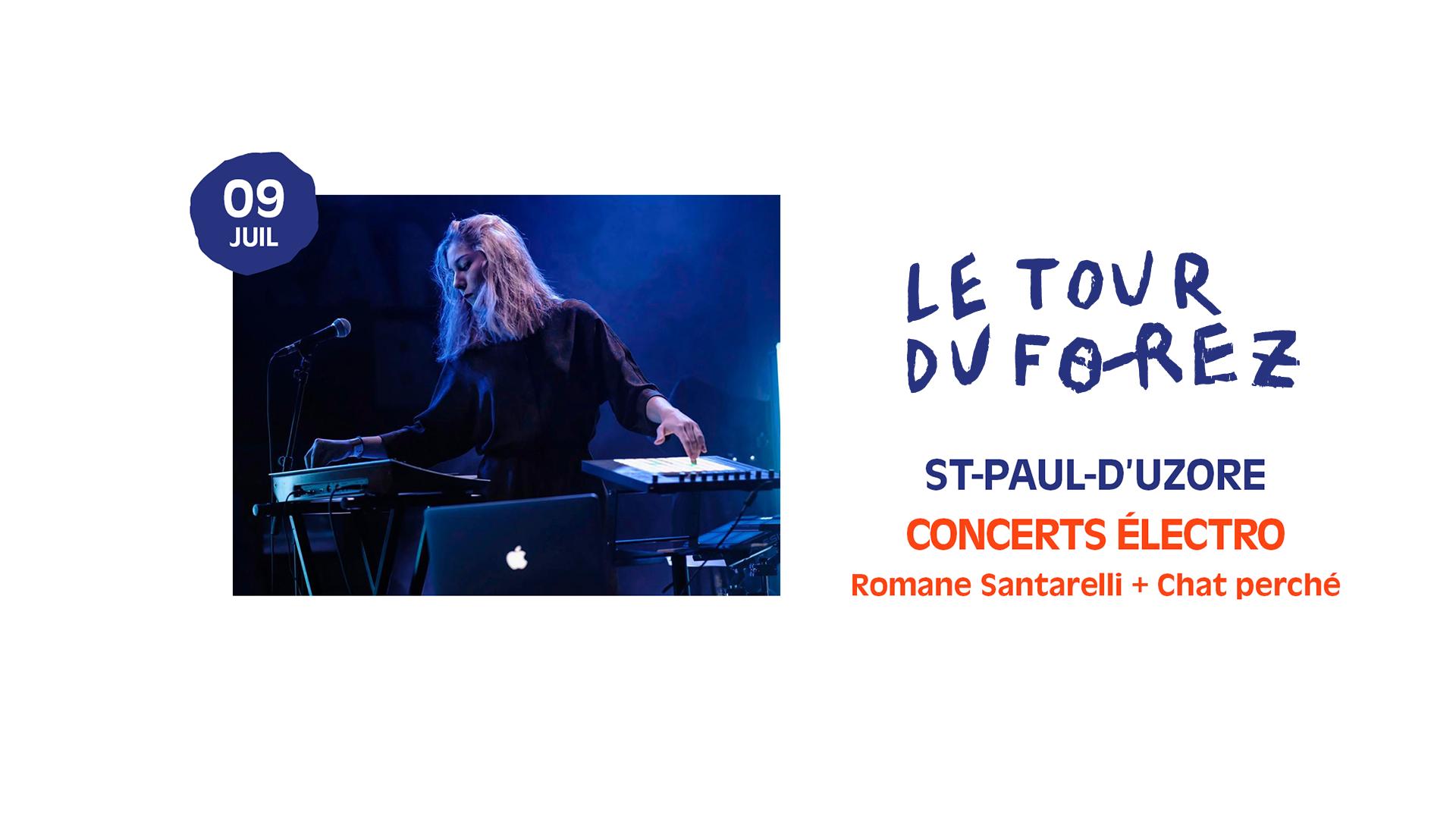 Concerts Romane Santarelli + Chat Perché