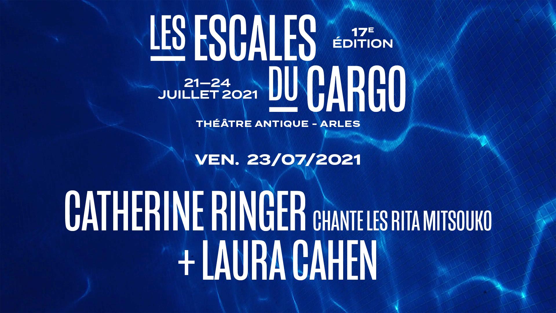CATHERINE RINGER chante Les Rita Mitsouko + LAURA CAHEN
