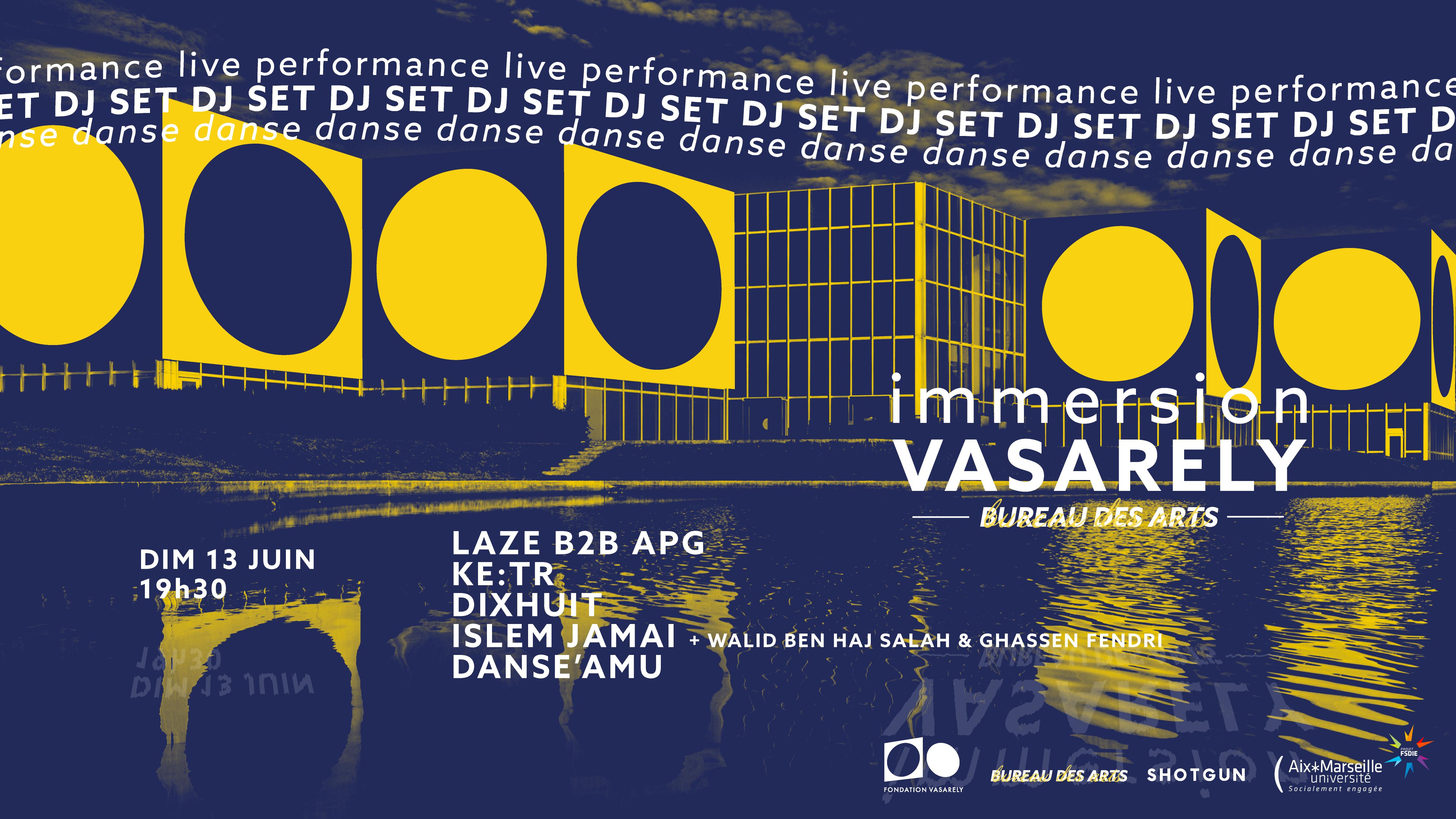 Immersion Vasarely x Bureau des Arts