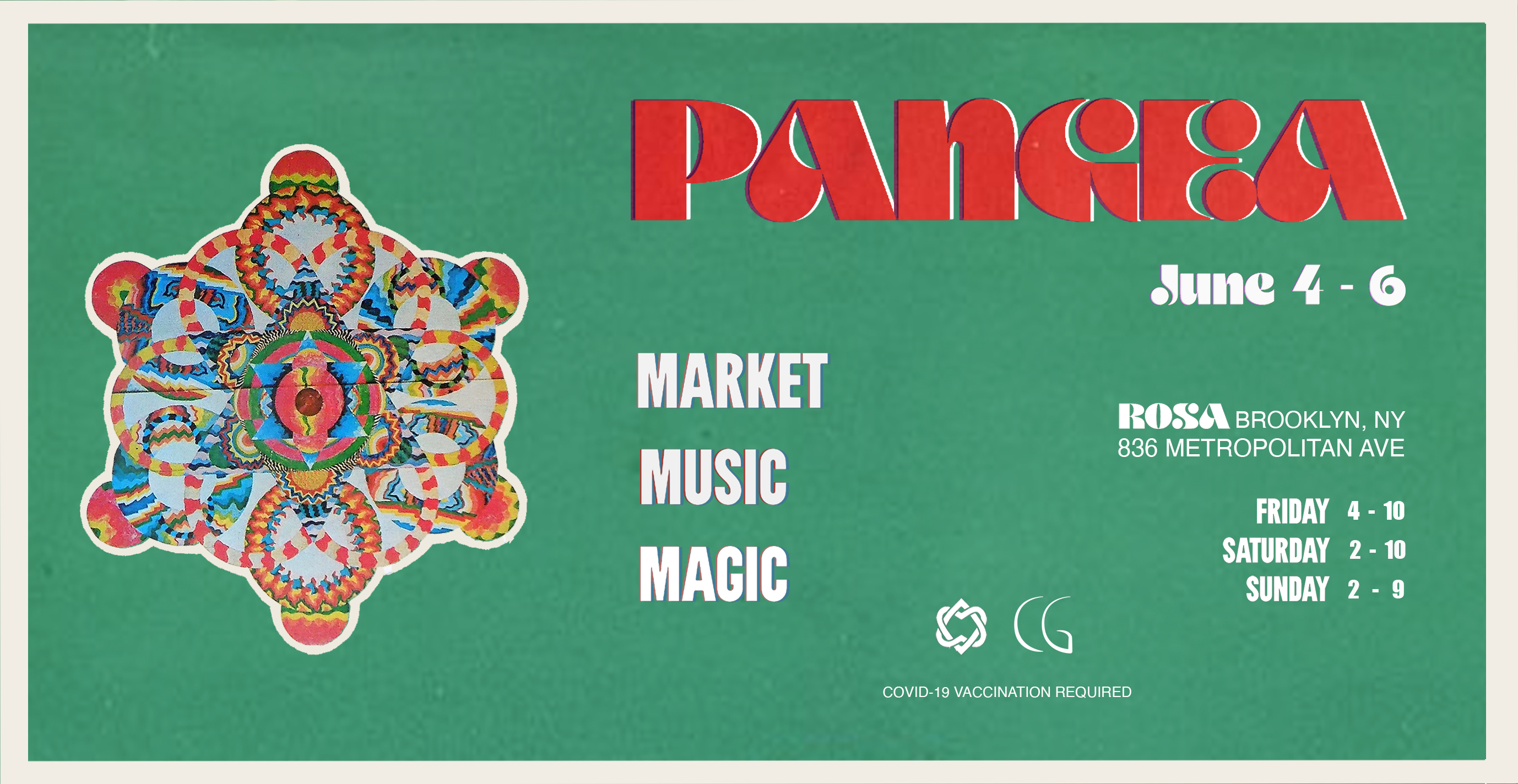 PANGEA  MARKET & OUTDOOR DAY PARTY