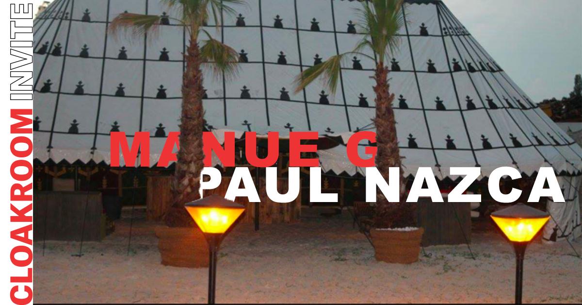 CLOAKROM INVITE PAUL NAZCA , MANUE G
