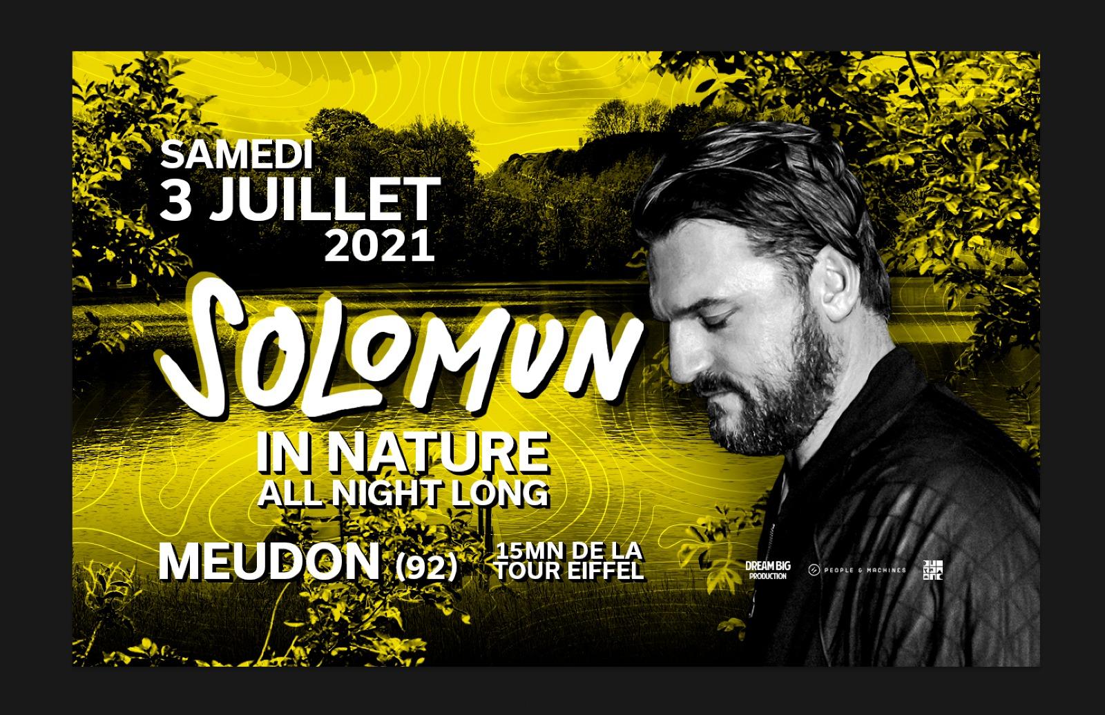 SOLOMUN IN NATURE - PARIS 2021