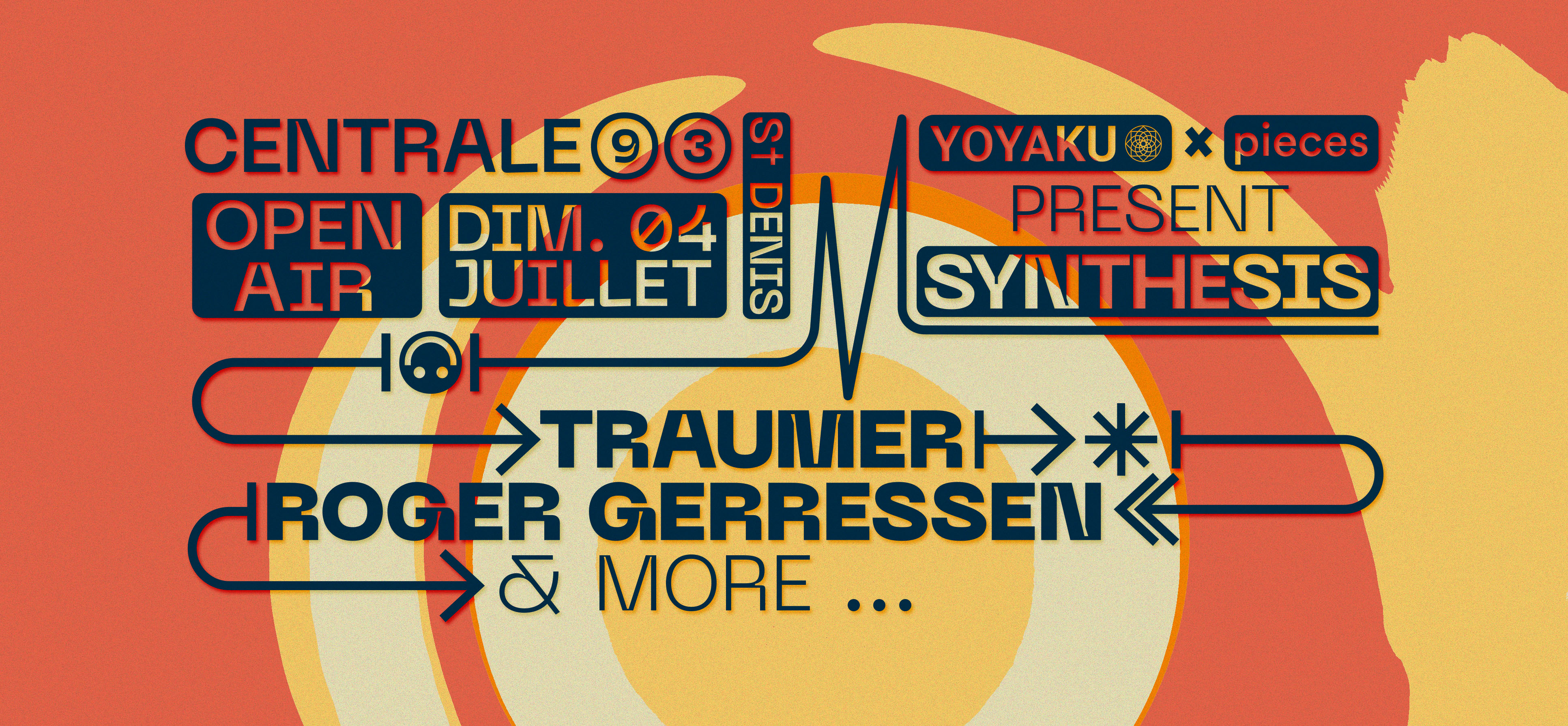 Centrale93 Open Air Synthesis : Traumer, Roger Gerressen & more
