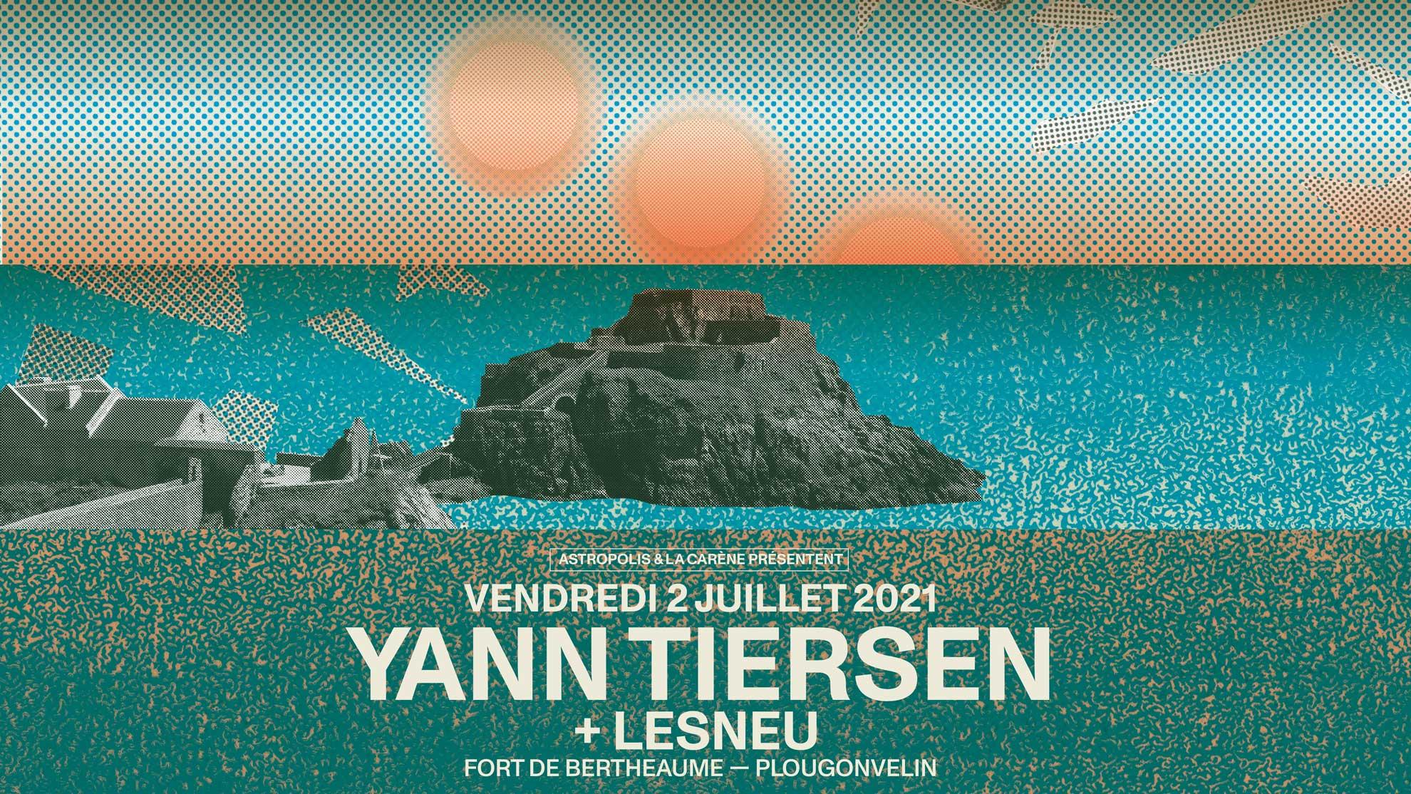 02/07 : Yann Tiersen + Lesneu @ Fort de Bertheaume