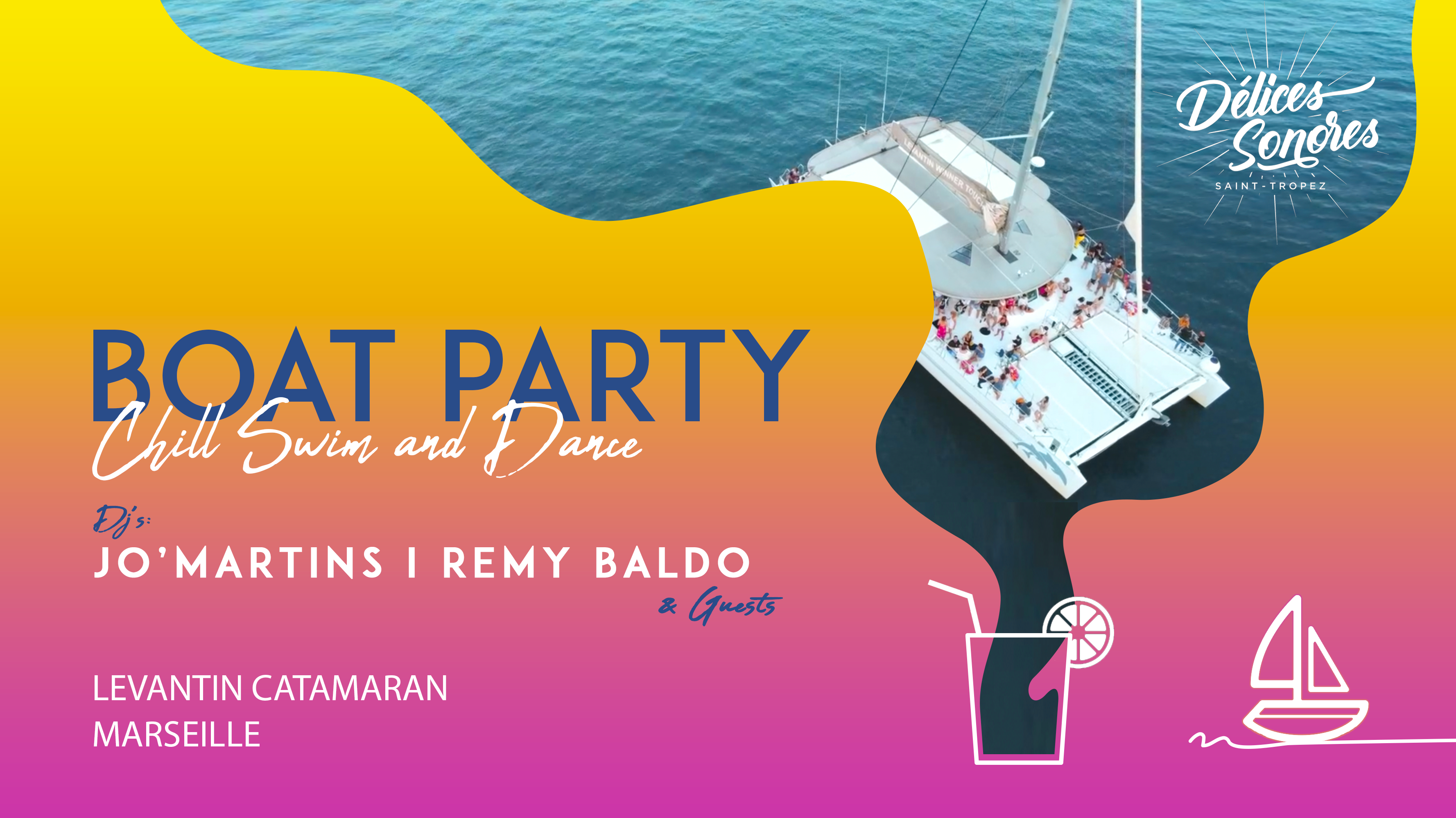 Delices Sonores Boat Party 2021