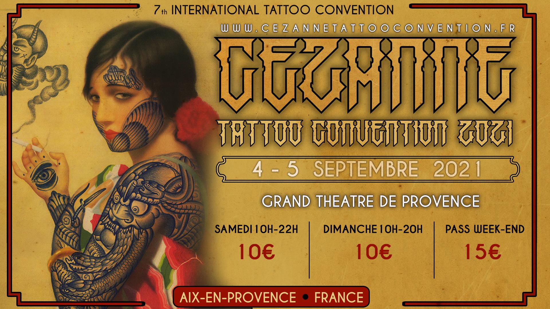 Cézanne Tattoo Convention 2021