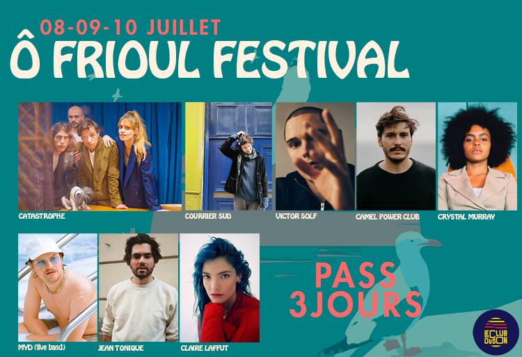 Ô Frioul Festival | PASS 3JOURS
