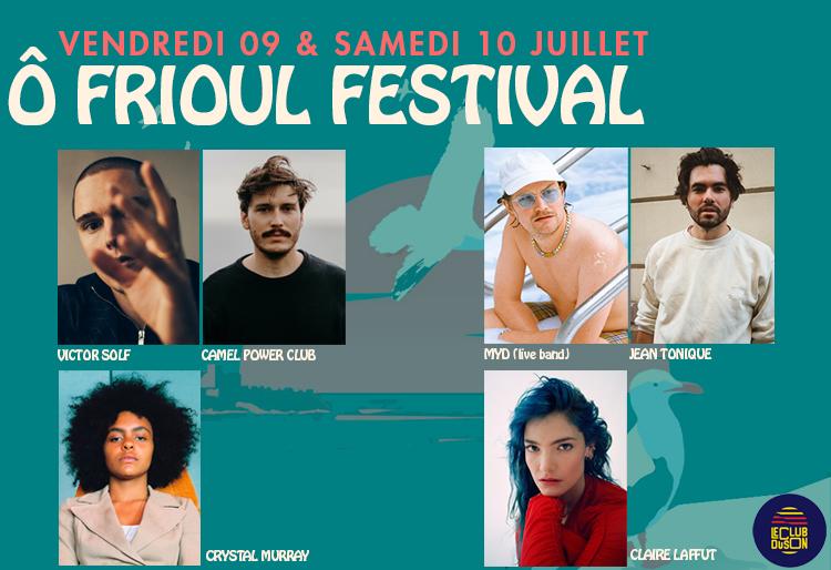 Ô Frioul Festival | PASS 2 jours (ven. & sam.)