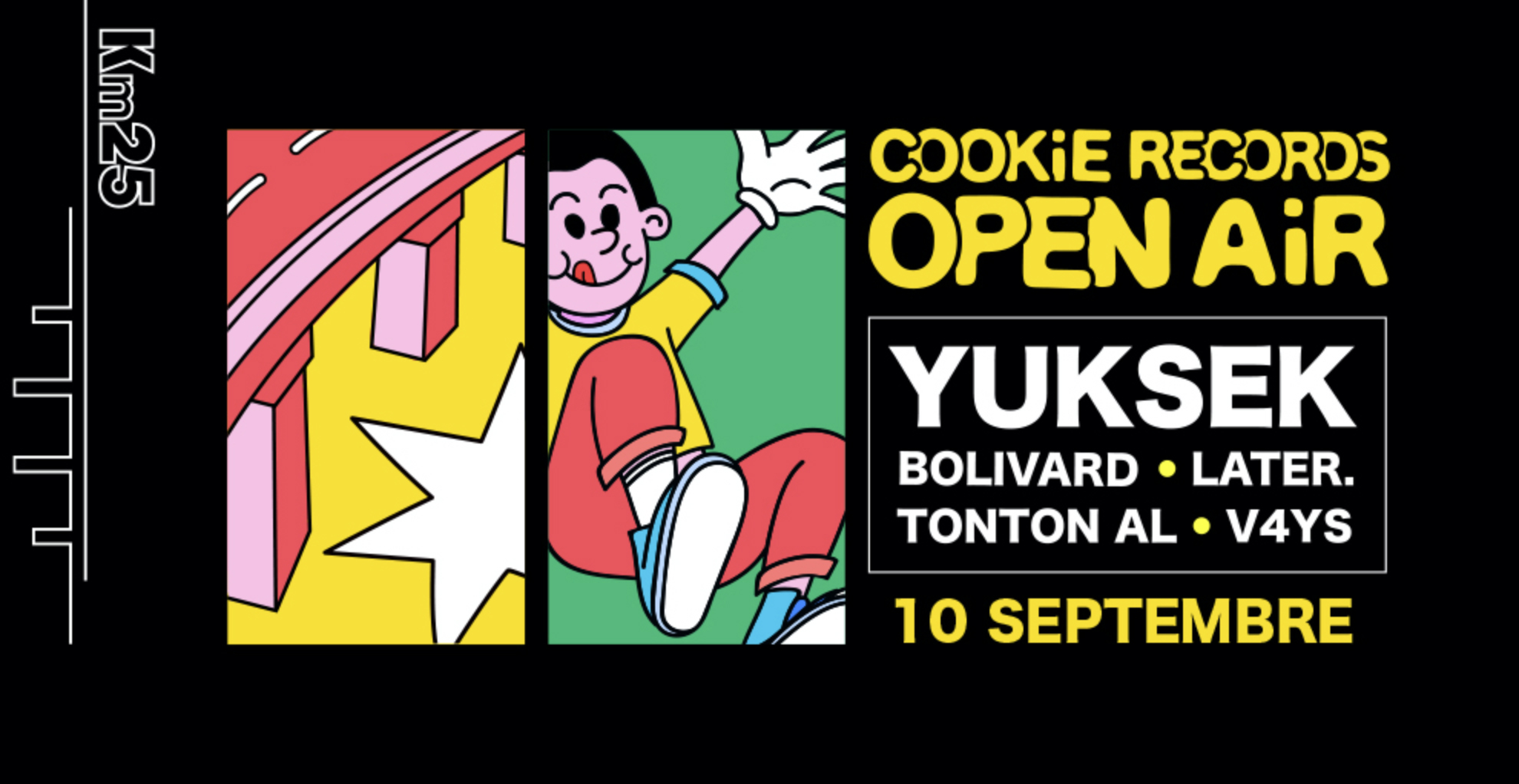 Kilomètre25 x Cookie Records : Yuksek & Friends