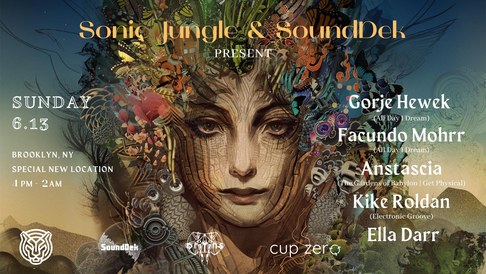 Sonic Jungle & SoundDek Present: 6.13 Gorje Hewek,Facundo Mohrr & more