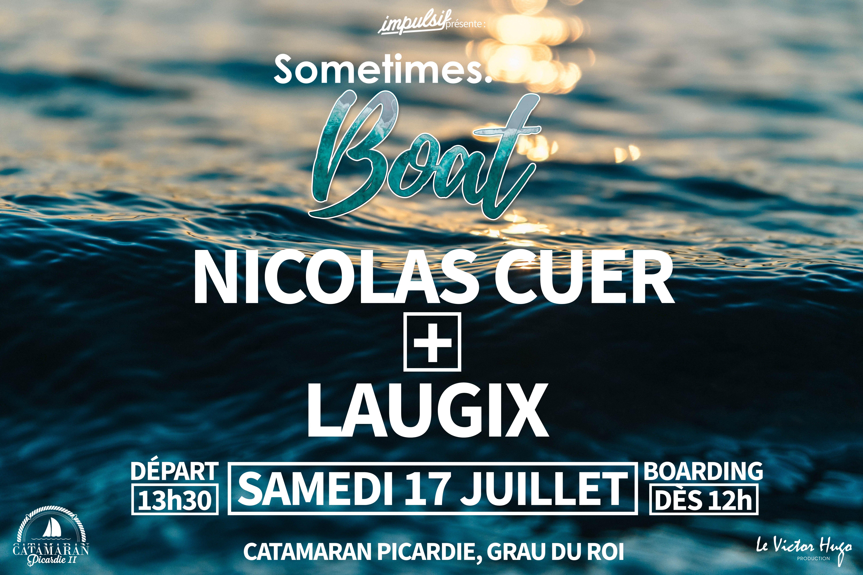 Sometimes. BOAT - Nicolas Cuer + Laugix