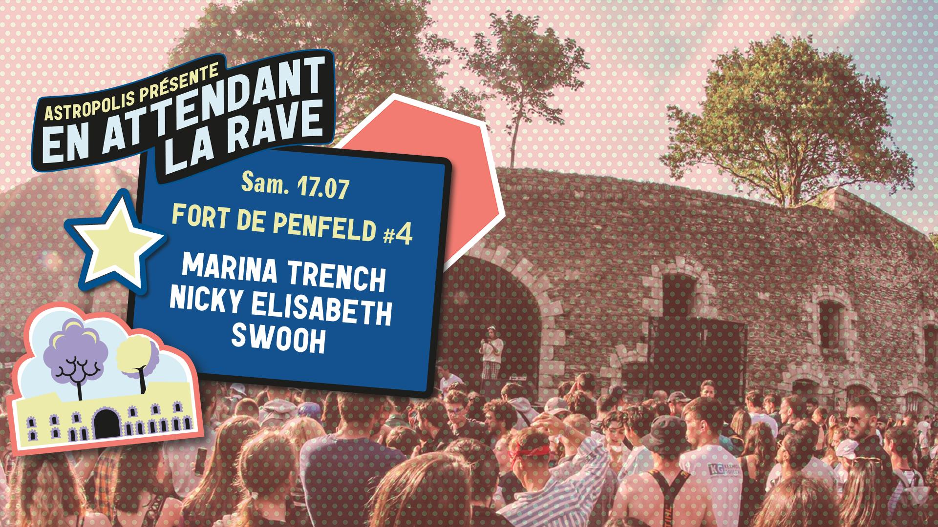 17/07 : Fort de Penfeld #4 - Marina Trench + Nicky Elisabeth + Swooh