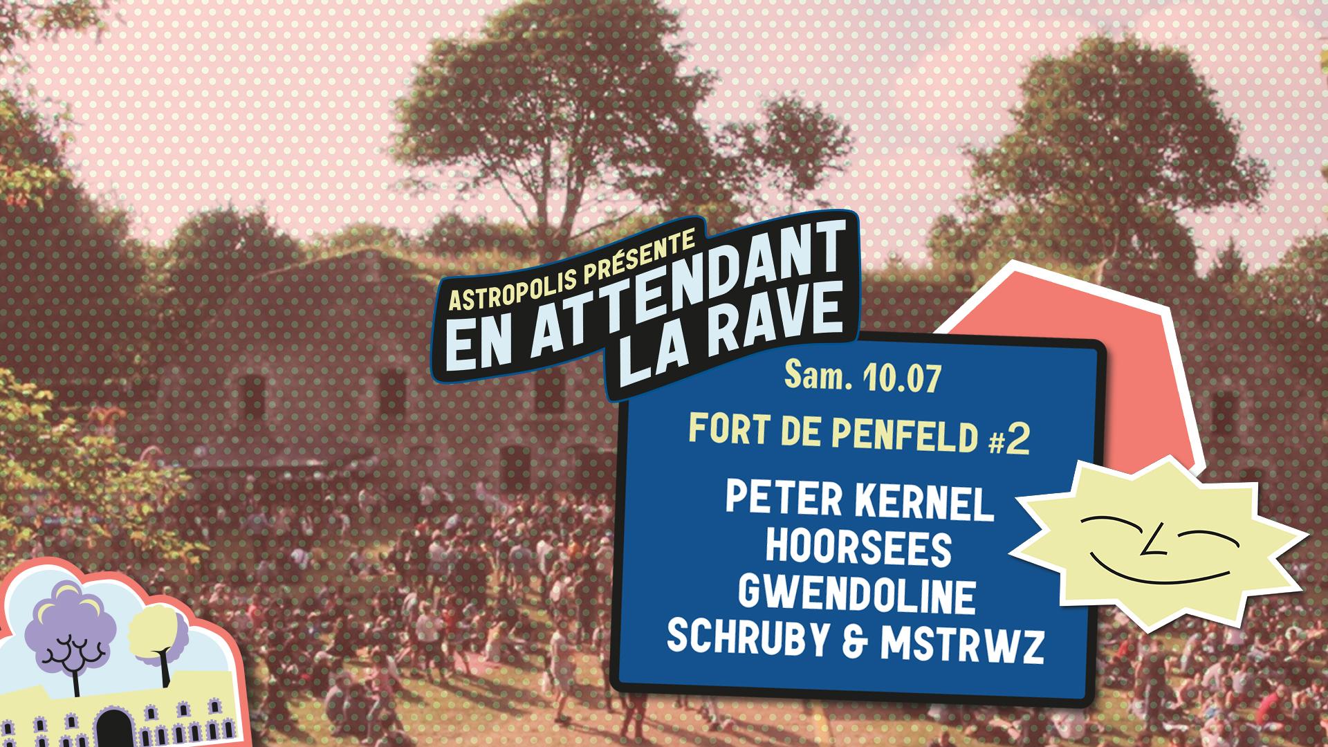 10/07 : Fort de Penfeld #2 - Peter Kernel + Hoorsees + Gwendoline + Schruby & Mstrwz