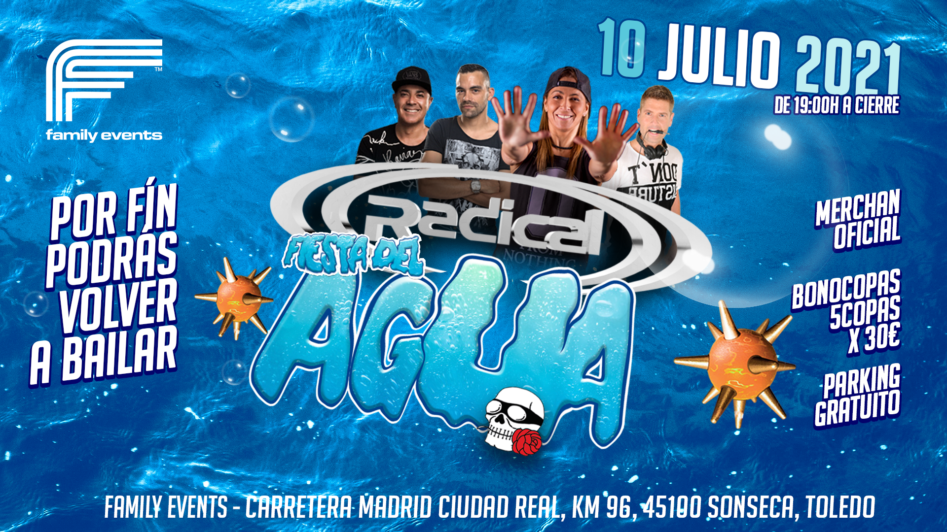 La Fiesta Del Agua 2021 - (( Radical ))