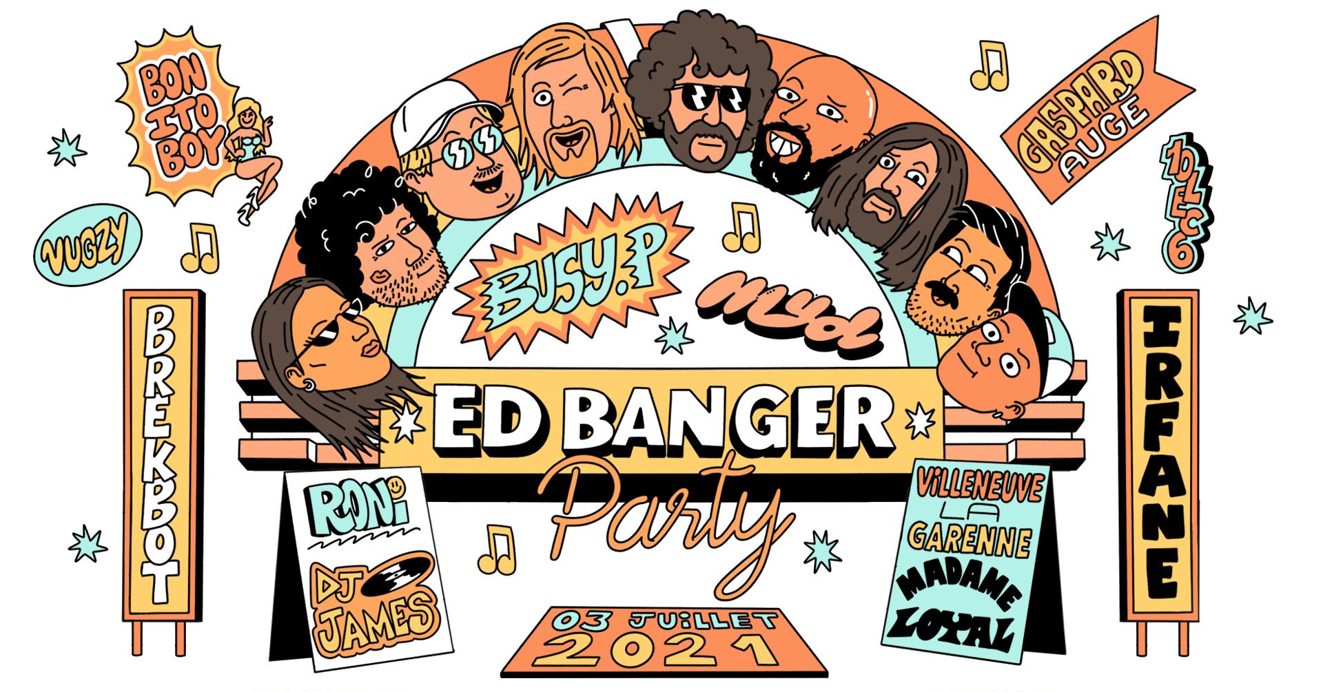 Madame Loyal : Ed banger Party