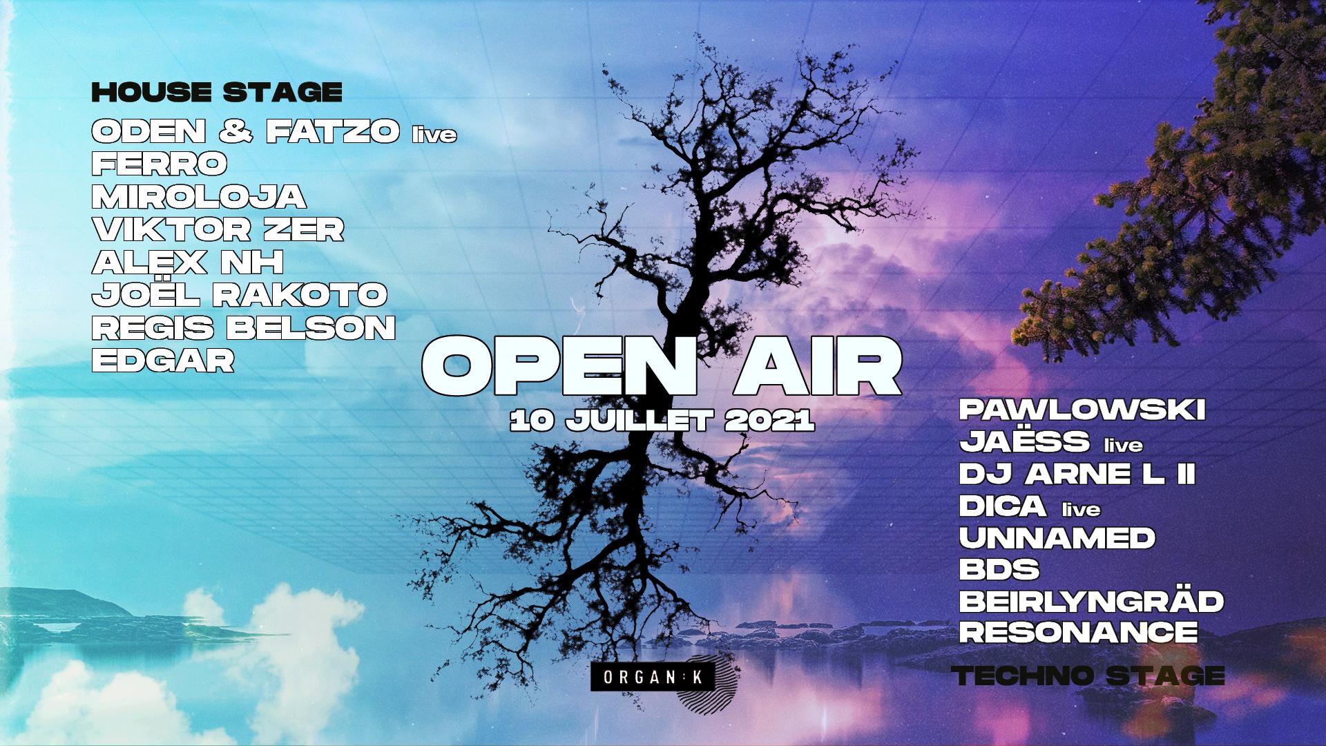Organïk : Open Rave