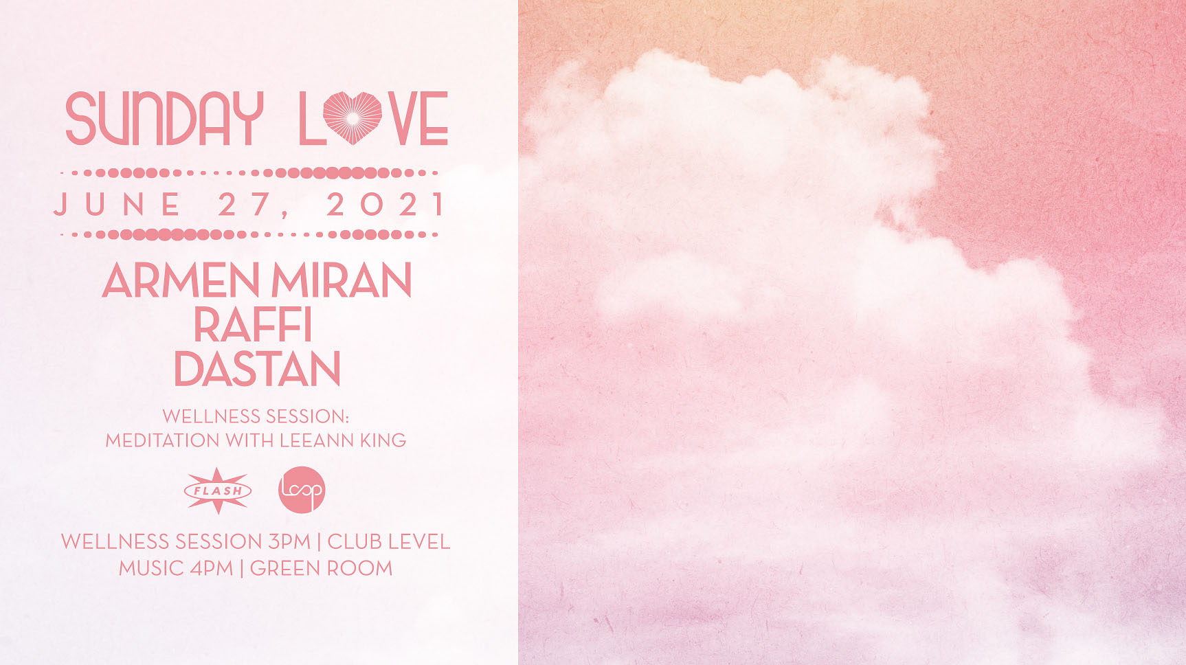 Sunday Love x Loop DC: Armen Miran - Raffi - Dastan