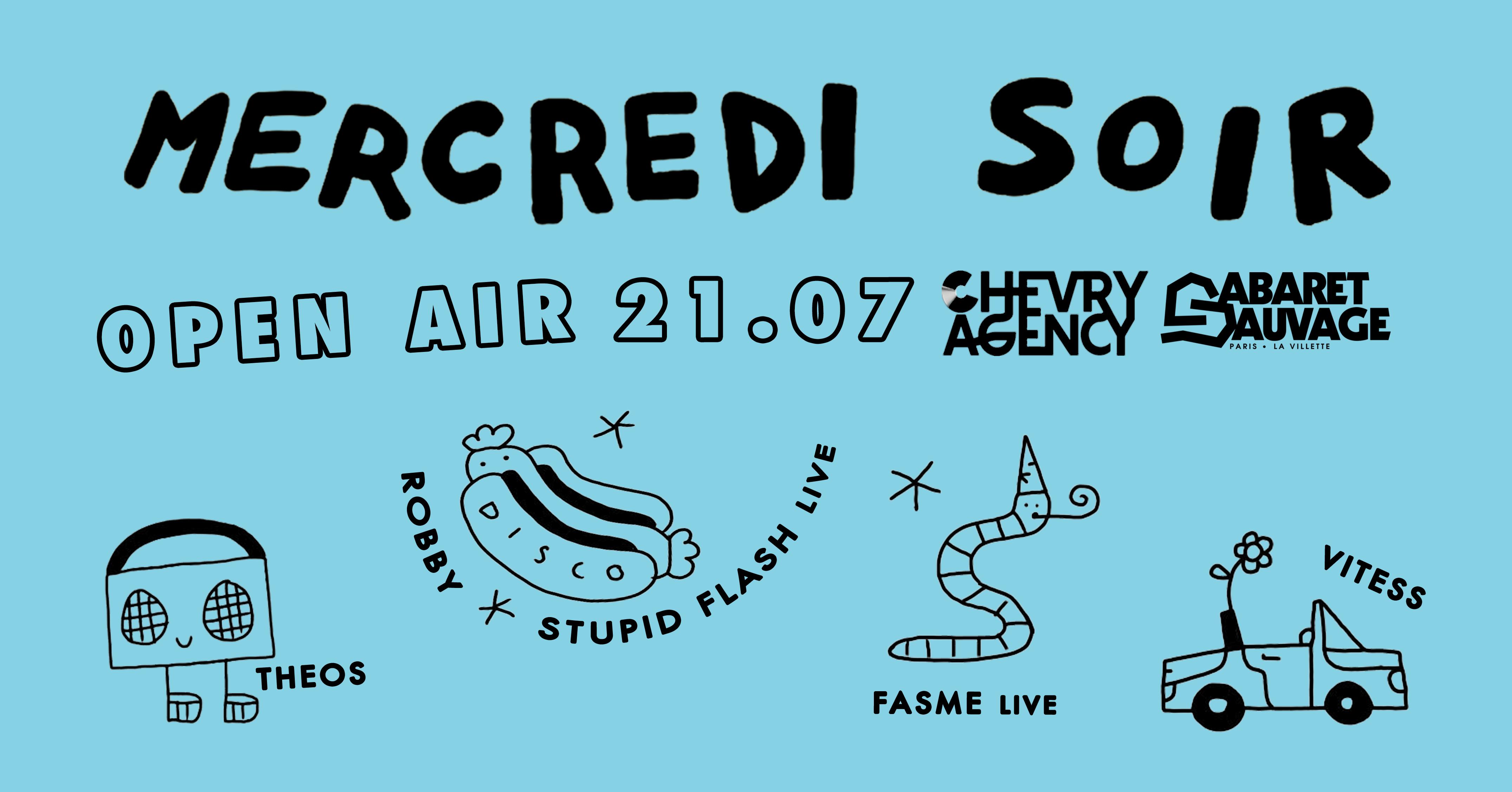 Mercredi Soir x Chevry Agency : Fasme Live, Vitess and more