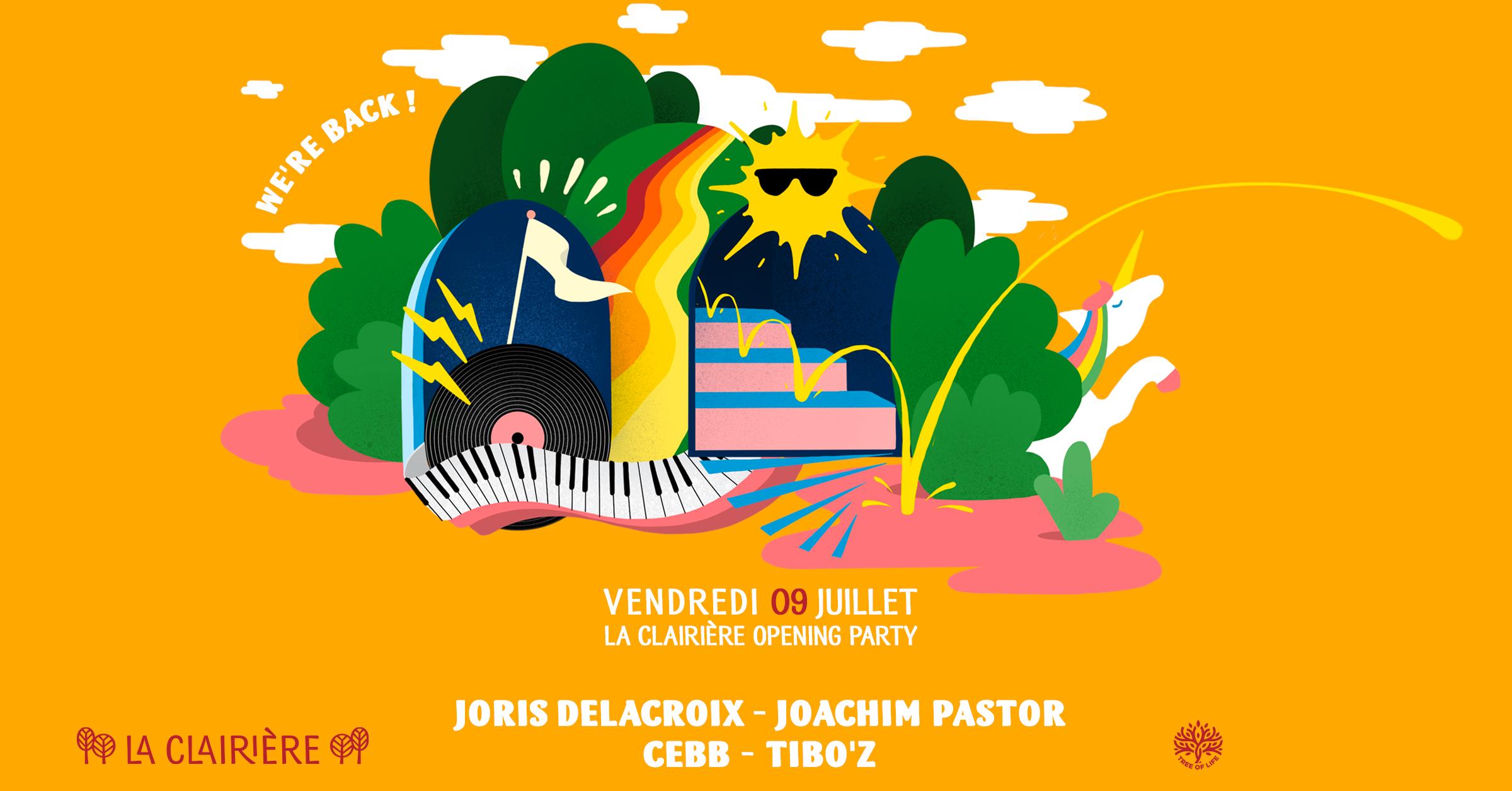 SOLD OUT! La Clairière : Joris Delacroix & Joachim Pastor