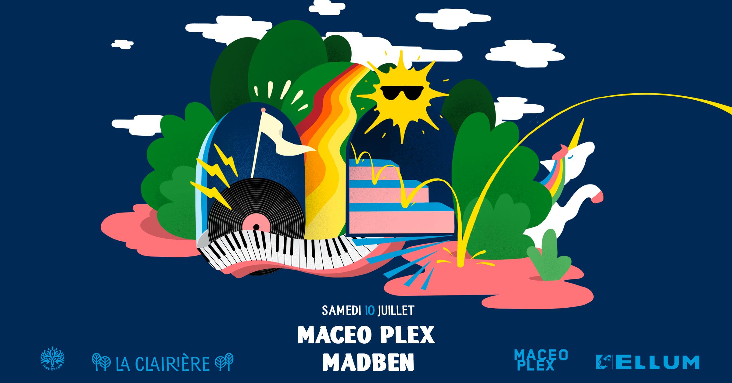 SOLD OUT! La Clairière : Maceo Plex