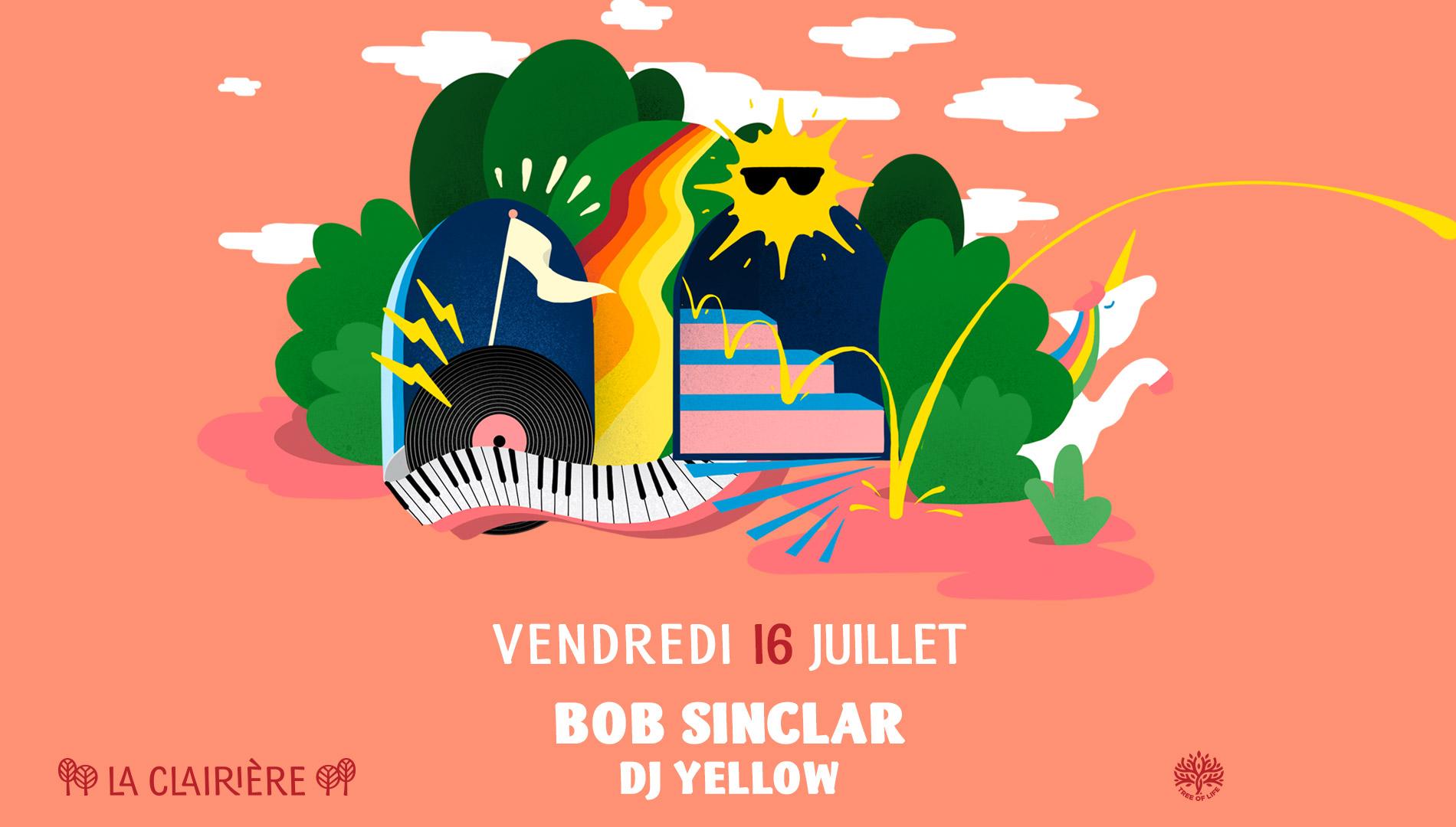 SOLD OUT! La Clairière : BOB SINCLAR