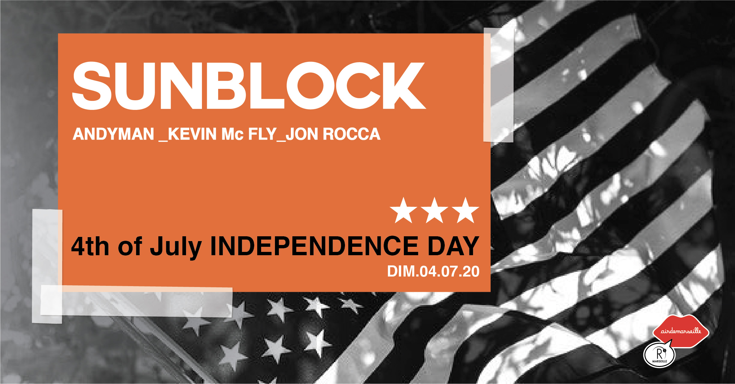 R2 ROOFTOP - OPENING SUNBLOCK - INDEPENDANCE DAY - HIP-HOP