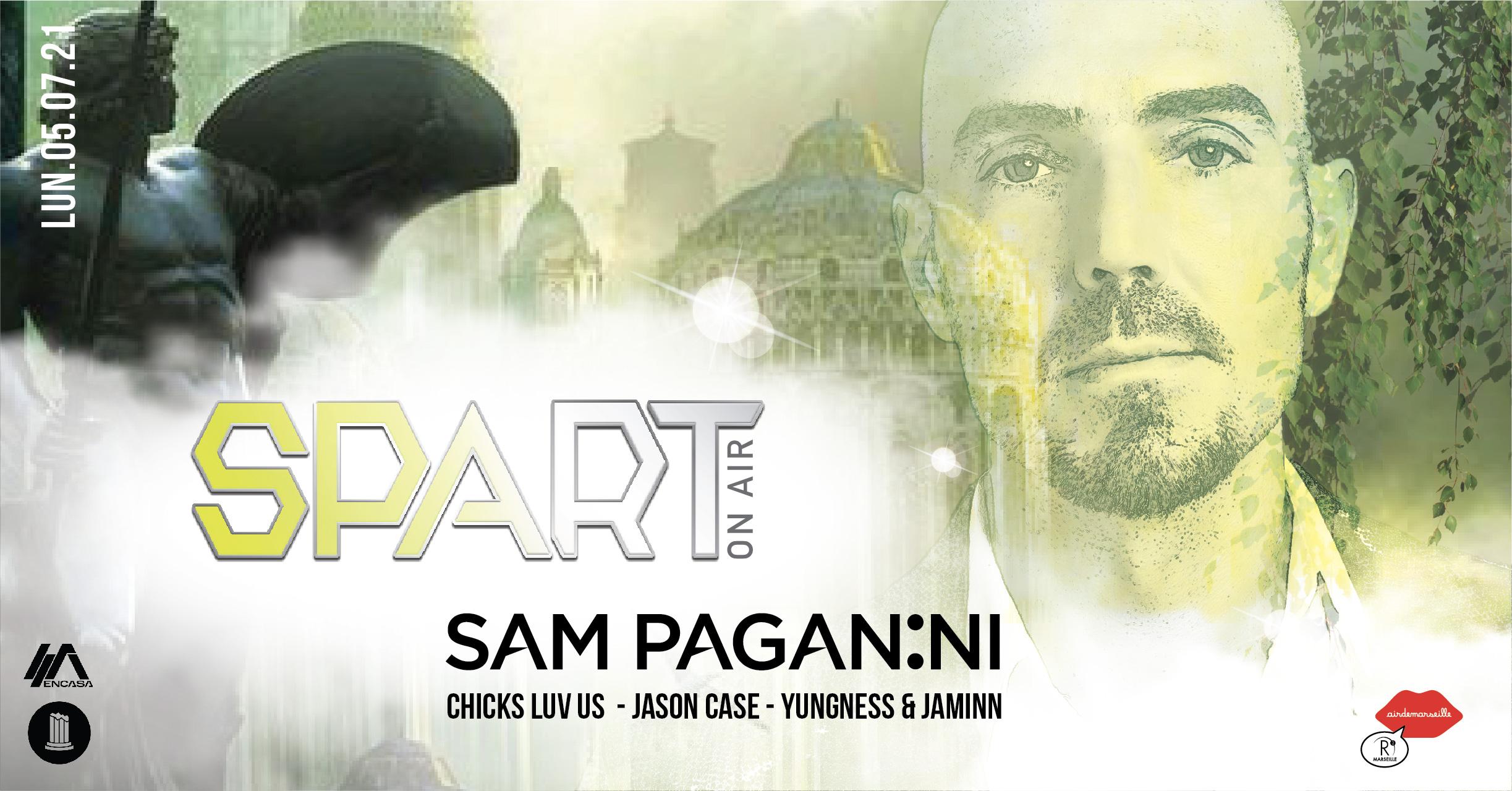 R2 ROOFTOP x SPART ON AIR - SAM PAGANINI