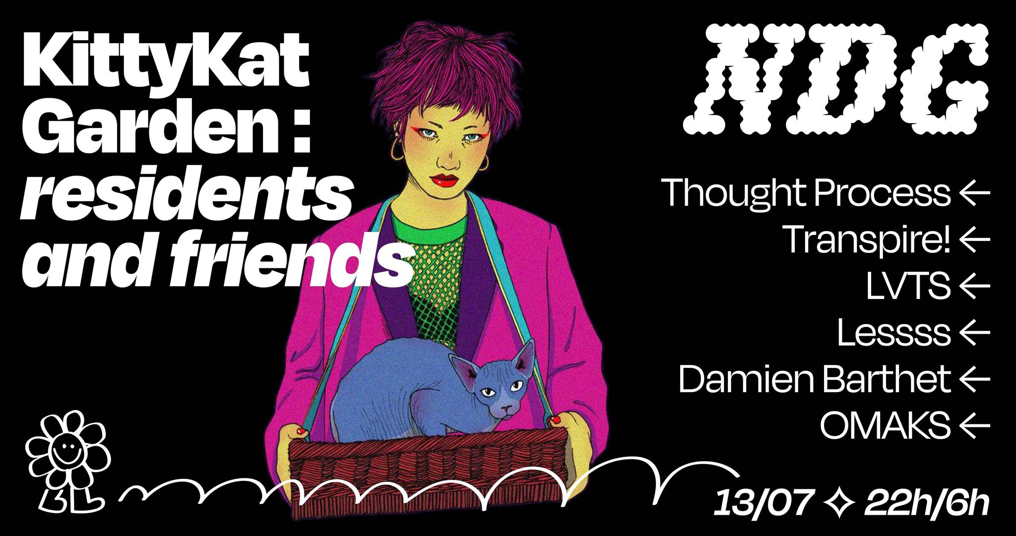 NDG Kittykat garden : Résidents and Friends