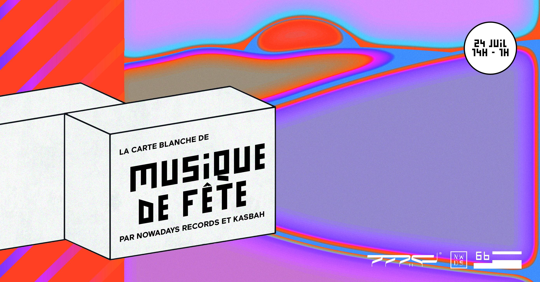 La Carte Blanche de Musique de Fête