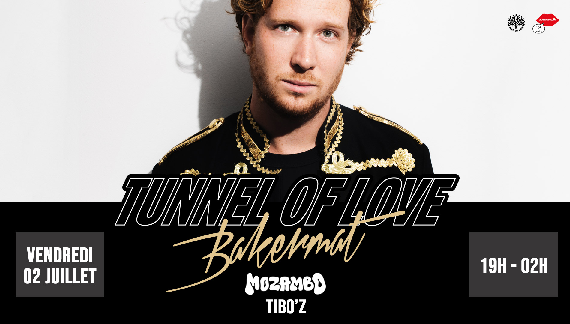 R2 Rooftop x Tunnel Of Love Opening Party! BAKERMAT DJ set + Live Sax