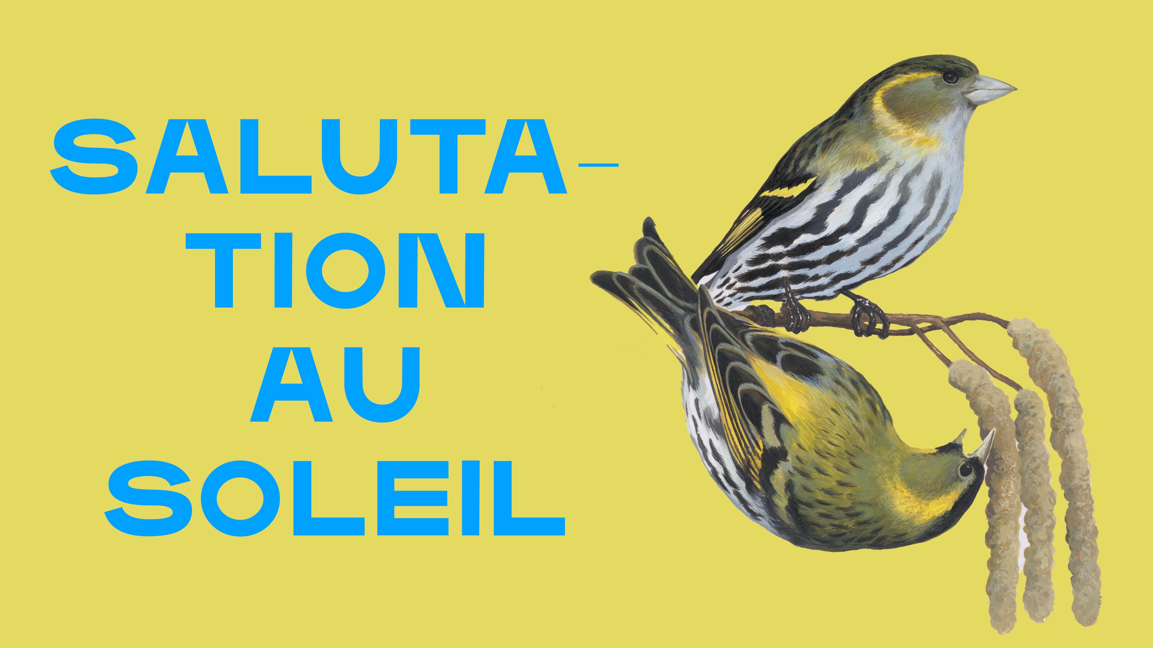 SALUTATION AU SOLEIL - SAMEDI 24 JUILLET